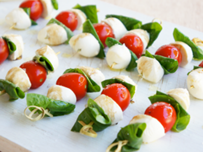 Bocconcini Cocktail And Cherry Tomatoes